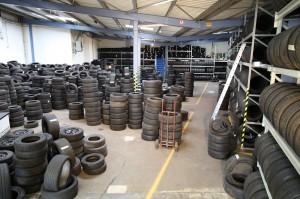 Reifenhandel und Export